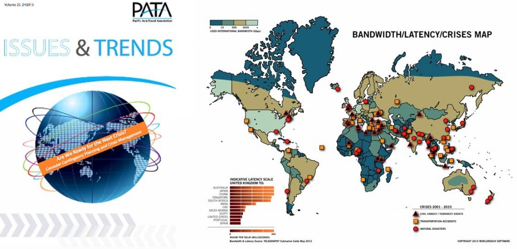 PATA Insights & Trends issue, featuring the latest statistics and diagrams regarding the effects of crises worldwide on governments and their citizens.