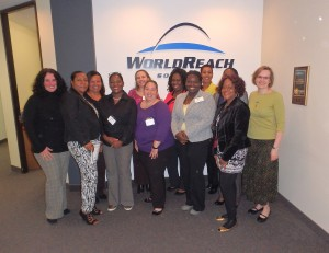 Passport Officials from the British Overseas Territories at WorldReach recently for training